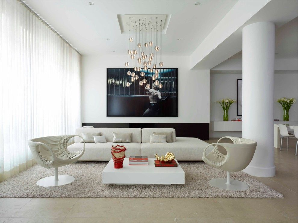 Lowes Panama City for a Contemporary Living Room with a Modern and Fabulous Flat by West Chin Architects & Interior Designers