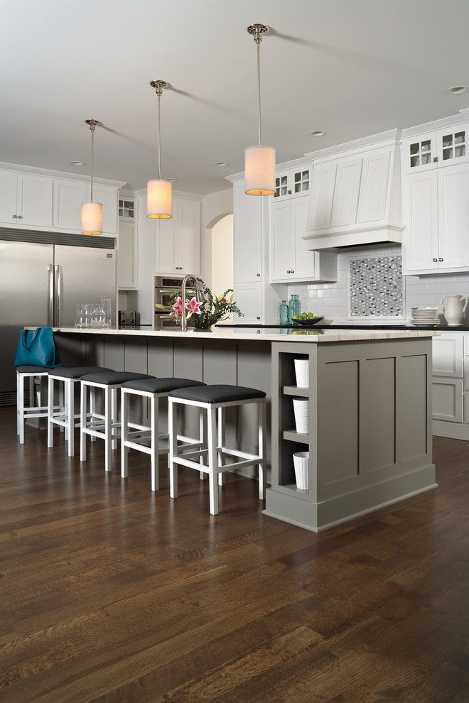 Lowes Panama City for a Transitional Kitchen with a Hardwood and Kitchen by Carpet One Floor & Home