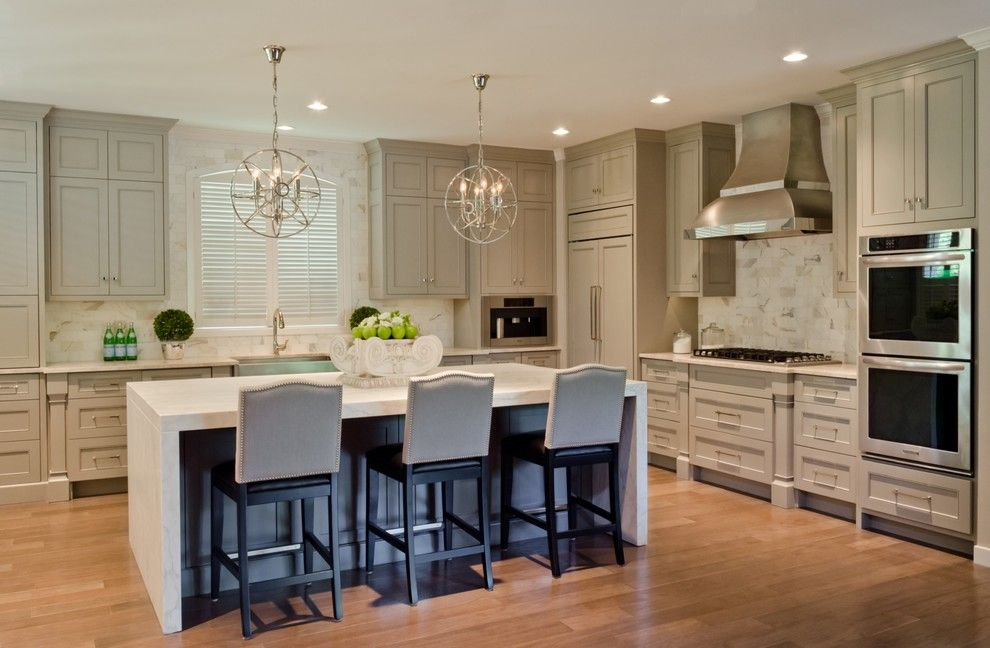 Lowes San Antonio for a Contemporary Kitchen with a Island and Castle Hills Kitchen, Breakfast, Pantry, and Laundry in San Antonio Texas by Bradshaw Designs Llc