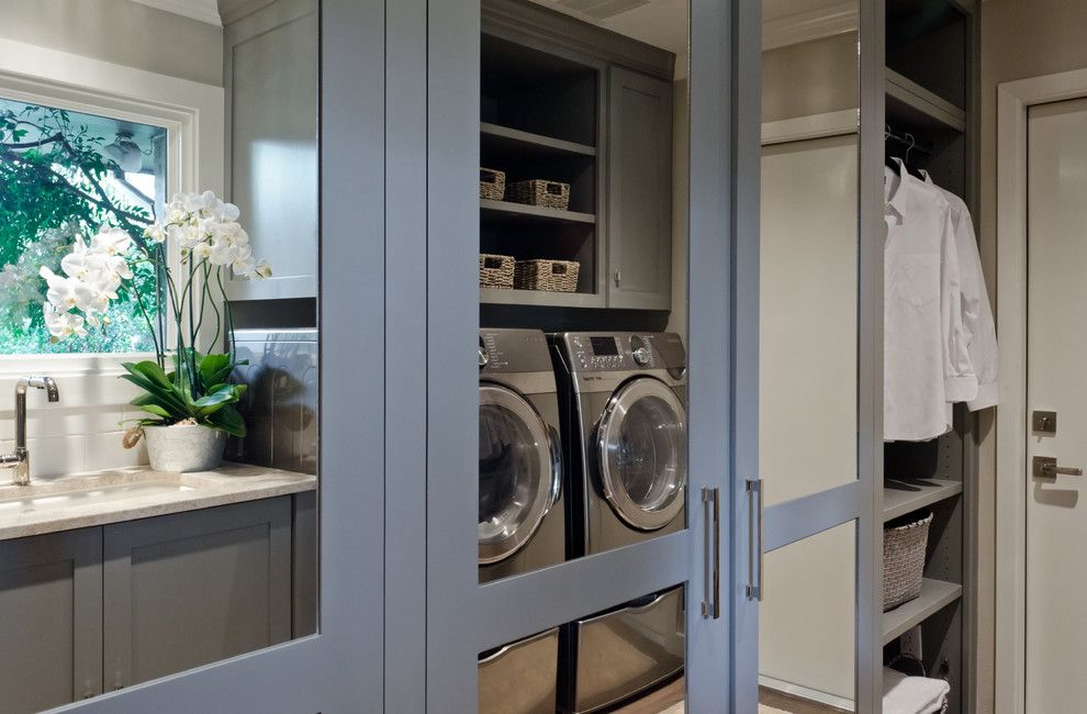 Lowes San Antonio for a Transitional Laundry Room with a Kitchen Design San Antonio and Castle Hills Kitchen, Breakfast, Pantry, and Laundry in San Antonio Texas by Bradshaw Designs Llc