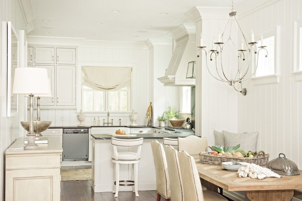 Lowes Seneca Sc for a Farmhouse Dining Room with a Chandelier and Palmetto Bluff: Conlon by Lgb Interiors, Llc Savannah