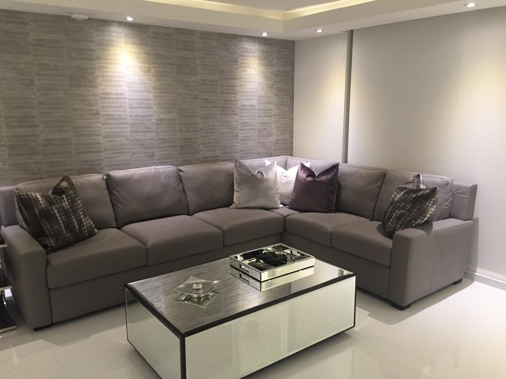 Lyndon Furniture for a Modern Living Room with a American Leather Sleeper Sofa and Hallandale Vacation Condo by Wasser's Exclusive Furniture & Interiors