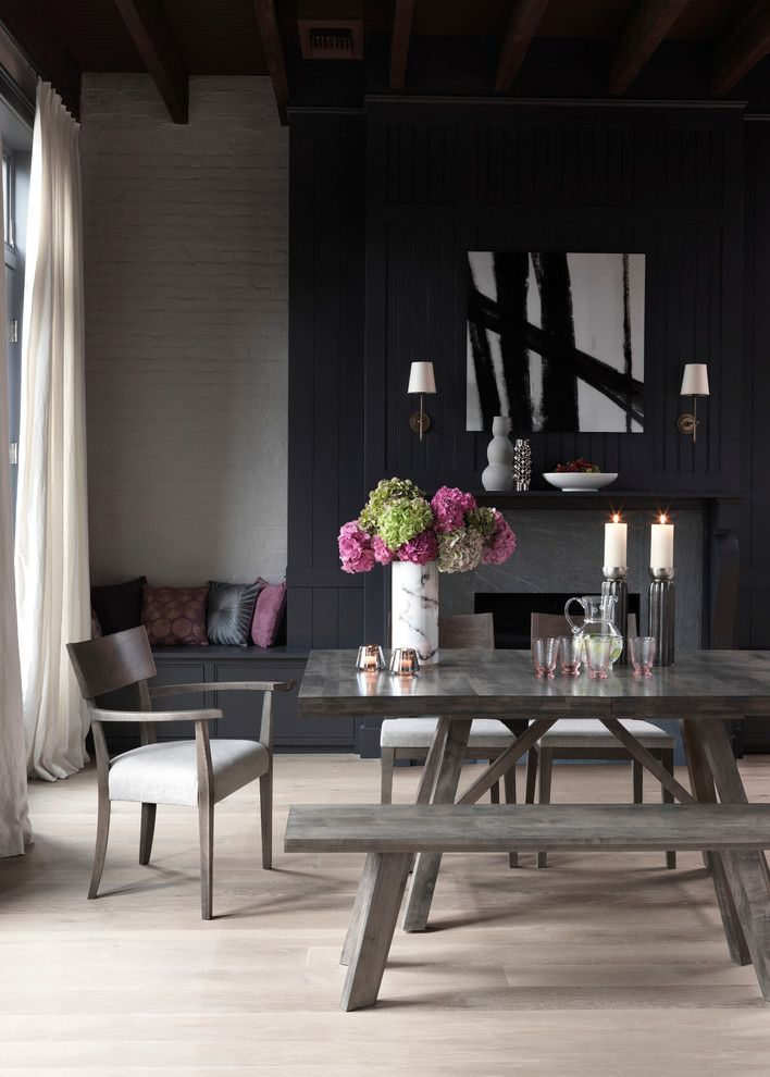 Martin Senour Paints for a Contemporary Dining Room with a Contemporary and Bloomingdale's by Bloomingdale's