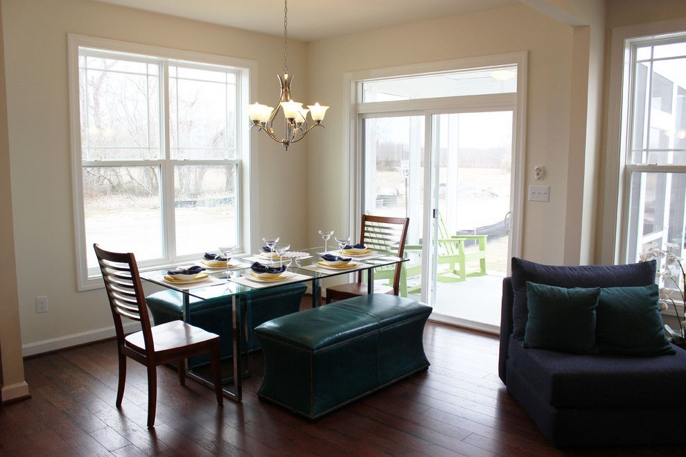 Millville by the Sea for a Beach Style Dining Room with a Coastal Cottage and the Dining Room by Millville by the Sea