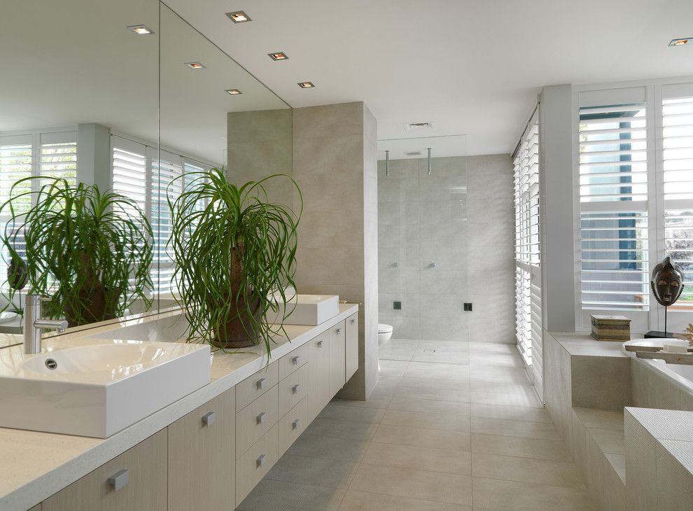 Mobern Lighting for a Contemporary Bathroom with a Modern Recessed Lights and Brighton Home by Mr.mitchell
