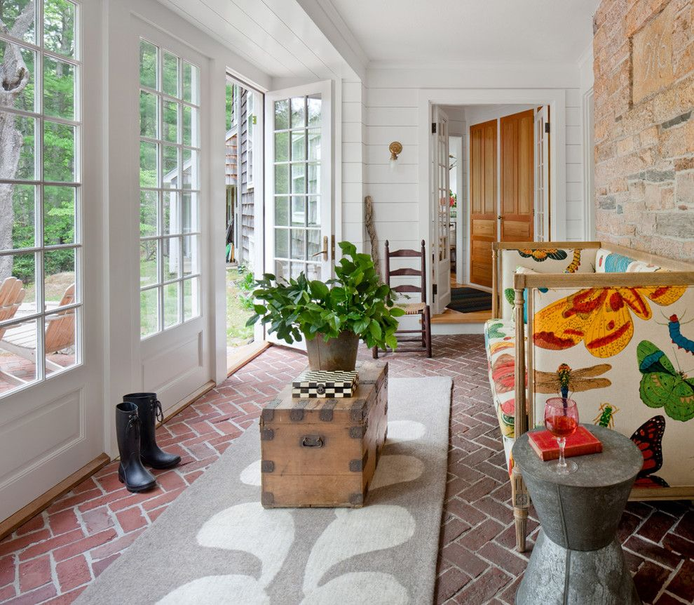 Newport Cottages for a Farmhouse Sunroom with a Sunroom and Exeter Farmhouse by Anthony Crisafulli