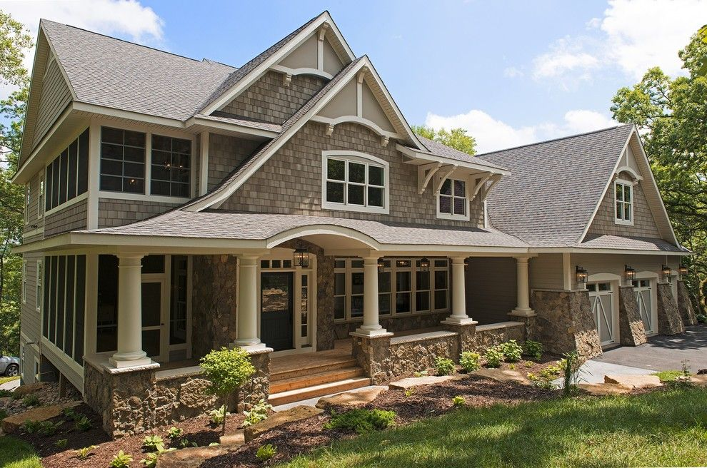 Pacesetter Homes for a Victorian Exterior with a Three Car Garage and Cottage Style Home by Divine Custom Homes