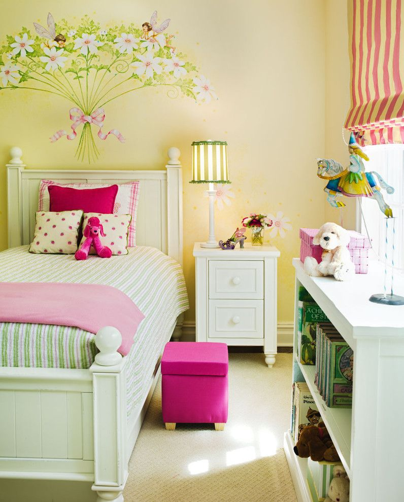 Pottery Barn Room Planner for a Contemporary Kids with a Pink and Green and Westport Family Home by Robin Mcgarry Interior Design