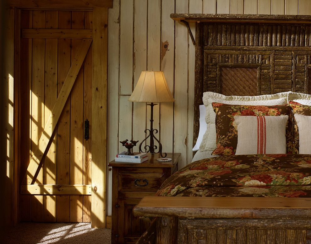 Rawhide Ranch for a Rustic Spaces with a Rustic Wood and Goose Creek Ranch by Montana Expressions