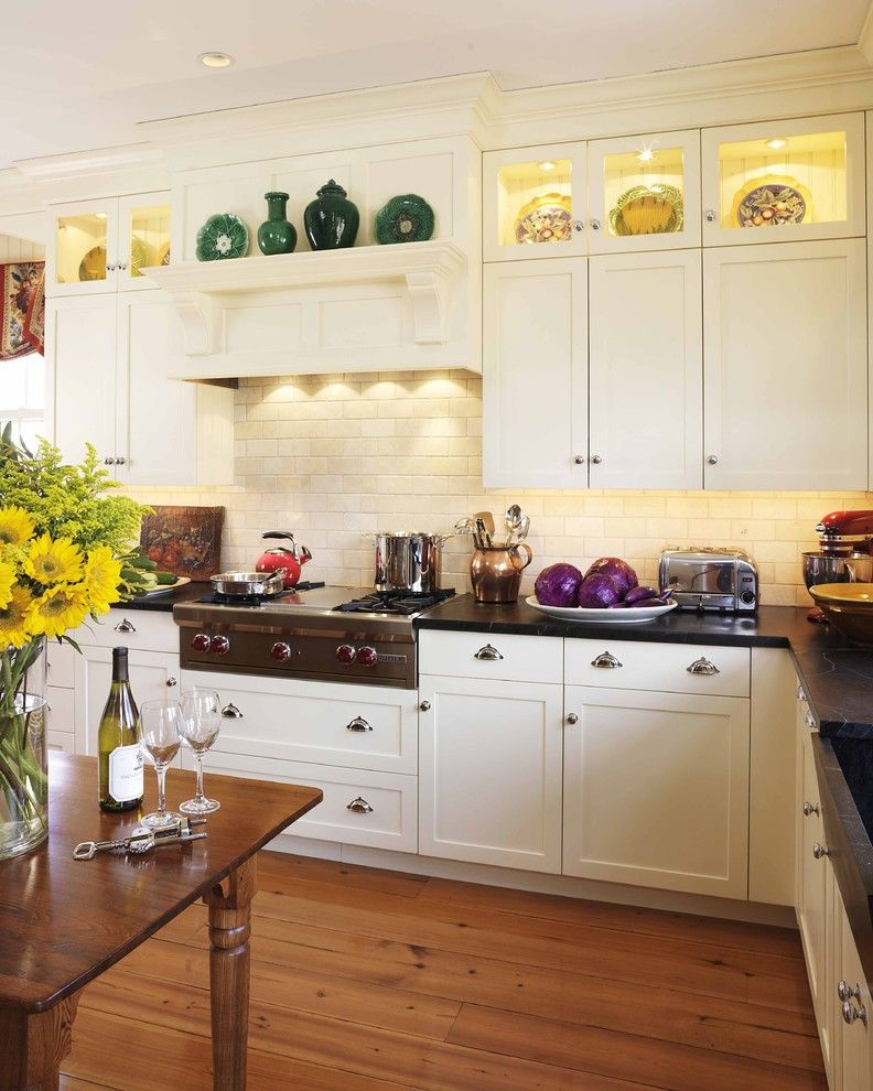 Restoration Hardware Boston for a Traditional Kitchen with a Kitchen Hardware and Barrington, Ri Kitchen by Venegas and Company