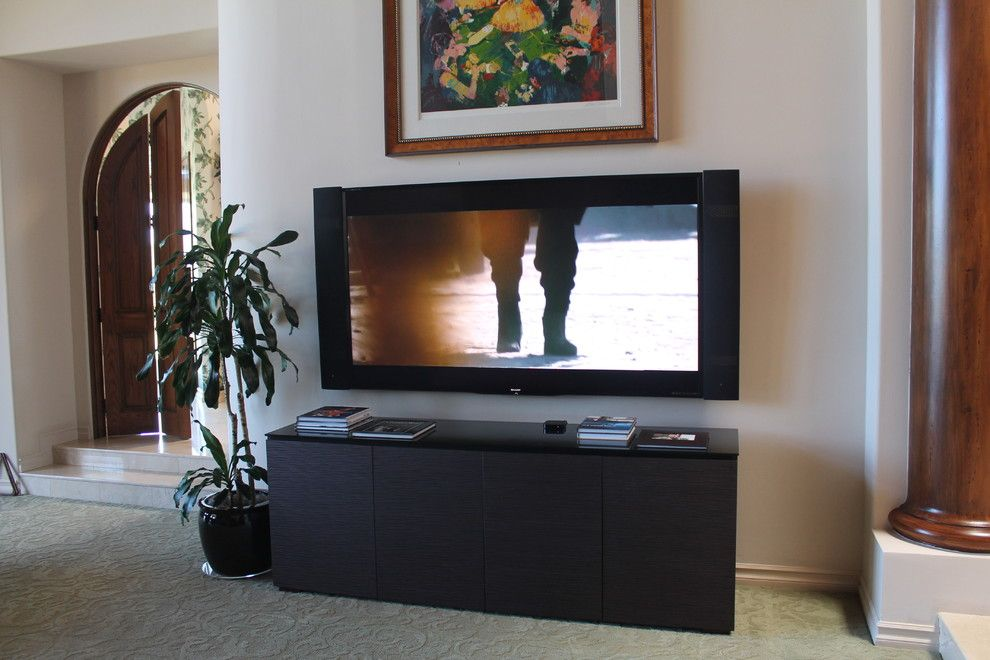 Rio Rancho Theater for a Contemporary Home Theater with a Universal Remote and 80