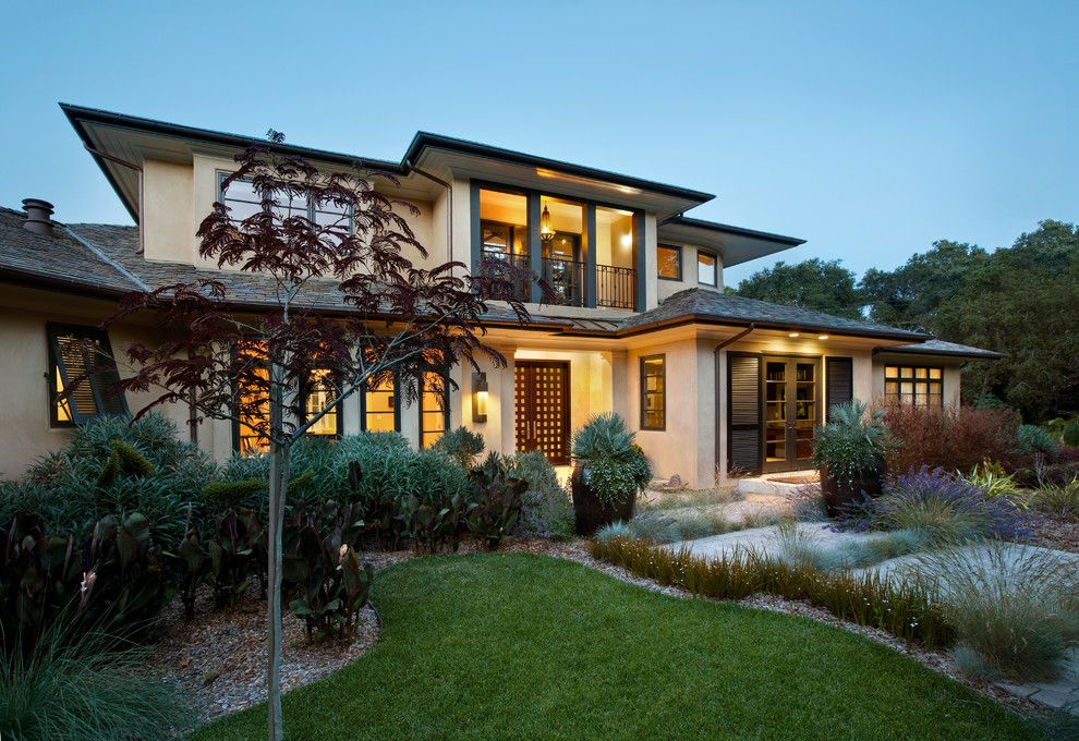 Roof Pitches for a Contemporary Exterior with a Sdg and Windsor by Sdg Architecture, Inc.
