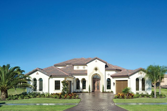 Rosewood Homes for a Mediterranean Exterior with a Brevard and Miramar 1223 by Arthur Rutenberg Homes - Rosewood Homes, Inc.