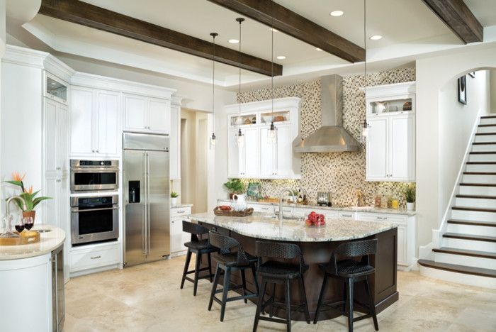Rosewood Homes for a Transitional Kitchen with a Charolais and Miramar 1223 by Arthur Rutenberg Homes   Rosewood Homes, Inc.