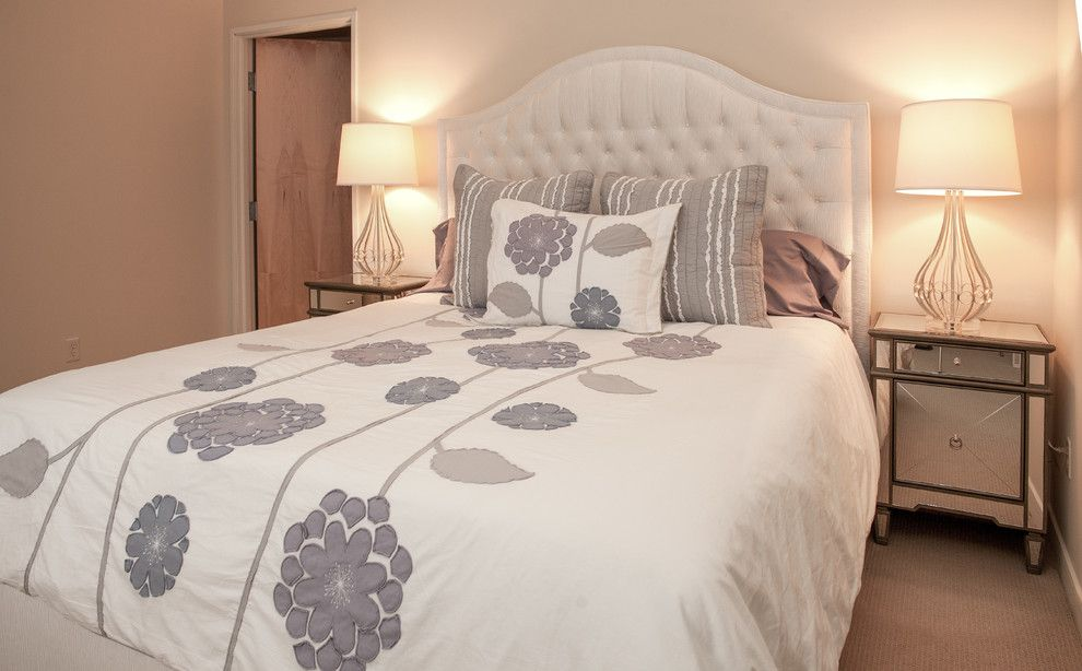 Scottsdale Gateway Apartments for a Contemporary Bedroom with a Gray and Gateway Apartment by Lynda Myers Interior Design