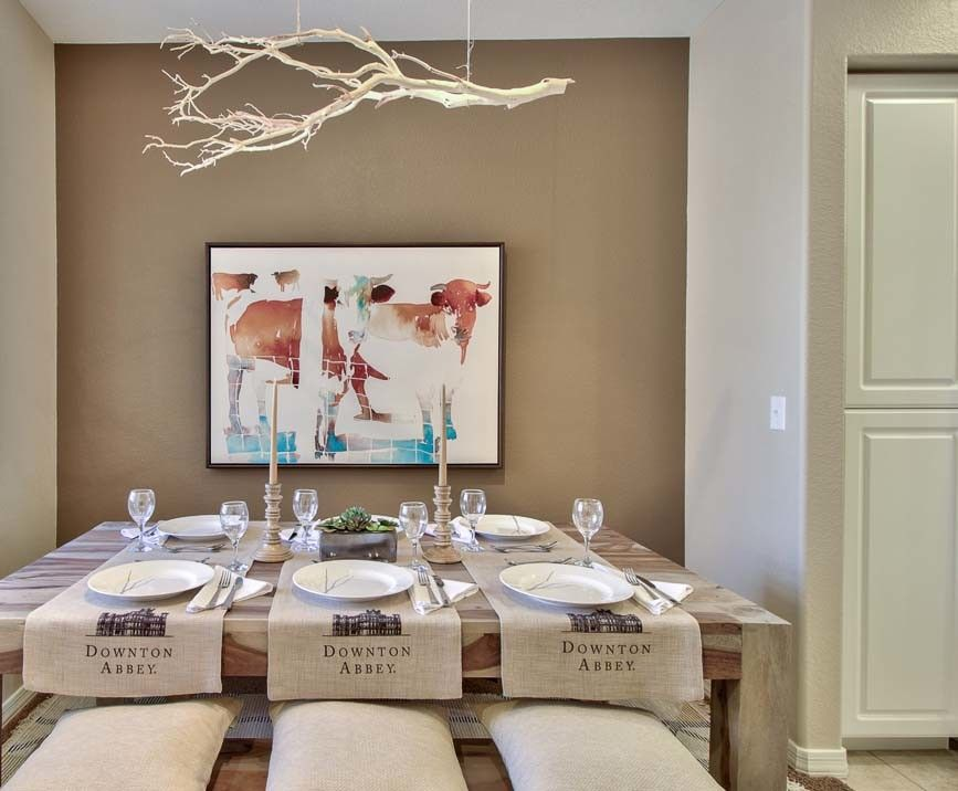 Scottsdale Gateway Apartments for a Rustic Dining Room with a Natural Finishes and Scottsdale Model Home Ii by M.a.p. Interiors Inc. / Sylvia Beez