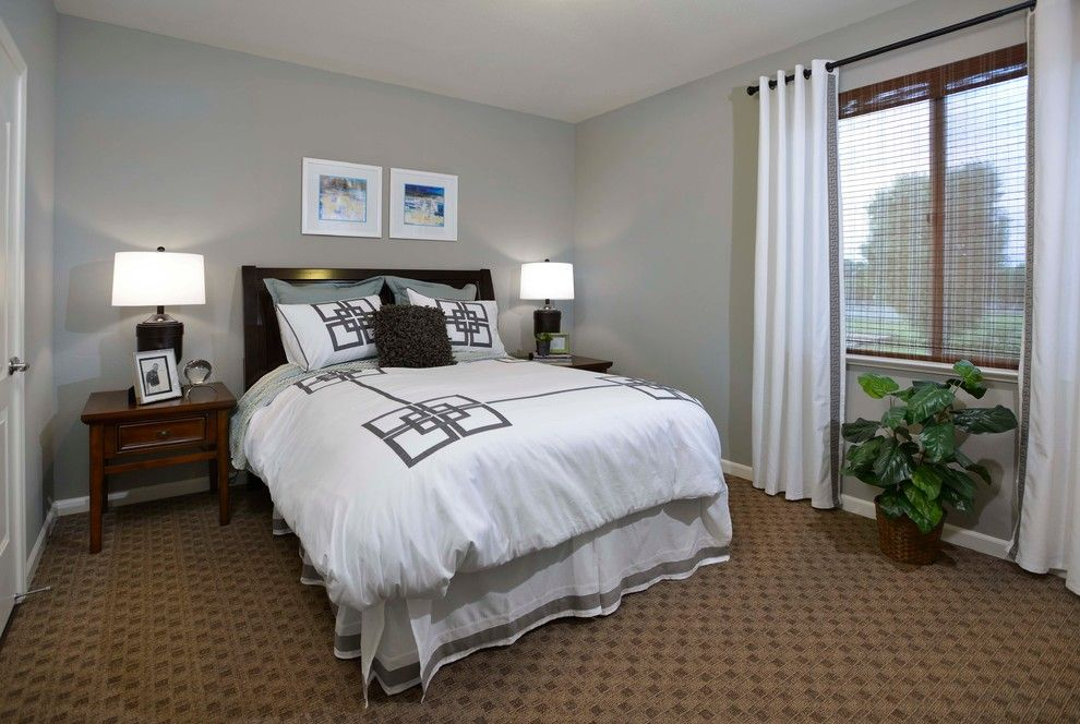 Scottsdale Gateway Apartments for a Transitional Spaces with a Tone on Tone with Lots of Texture and Gateway Apartments by Interior Consultants