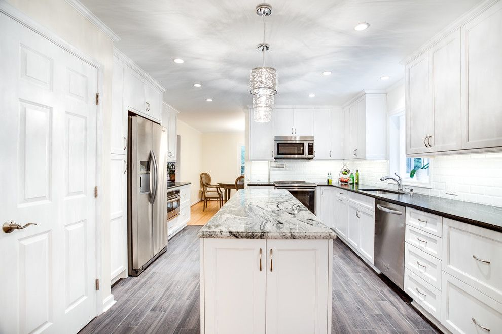 Sears Annapolis for a Transitional Kitchen with a Transitional and Transitional Kitchen Remodel Edgewater, Md by Ultracraft Cabinetry