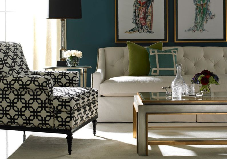 Southeastern Furniture for a Contemporary Living Room with a Sofa and Hickory White by Southeastern Galleries