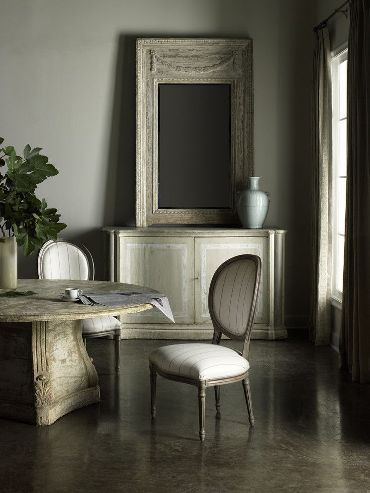 Southeastern Furniture for a Transitional Kitchen with a Dinning Room and Hickory White by Southeastern Galleries