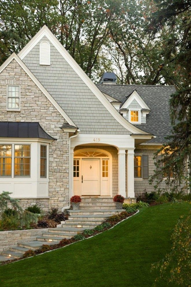Sport Chalet La Canada for a Traditional Exterior with a Front Yard and Cottage Exterior by Stonewood, Llc