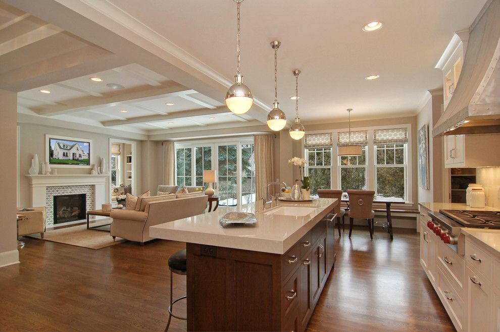 Sport Chalet La Canada for a Transitional Kitchen with a Recessed Lighting and Great Neighborhood Homes by Great Neighborhood Homes