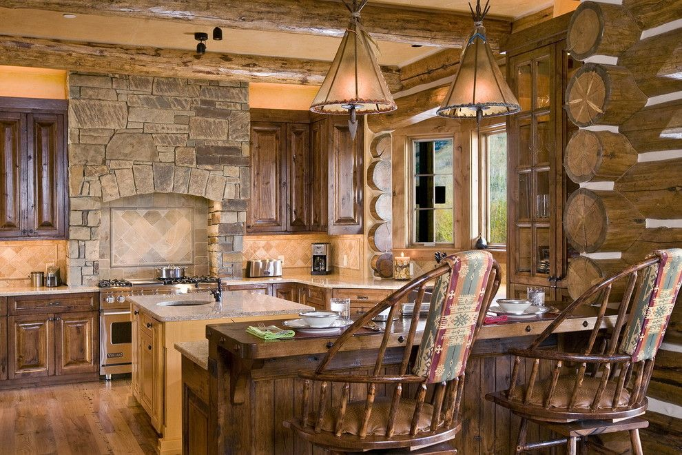 The Kitchen Portsmouth Nh for a Rustic Kitchen with a Island and Chronacher Kitchen by B&b Builders