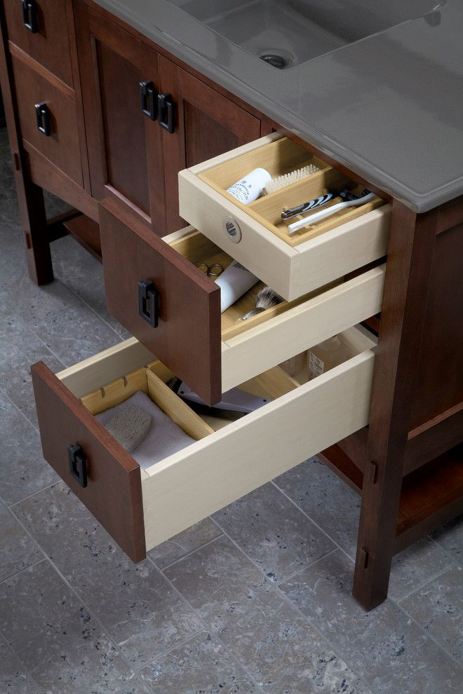 Toilet Paper Holder Height for a Traditional Bathroom with a Bath and Kohler Bathroom Vanities by Capitol District Supply
