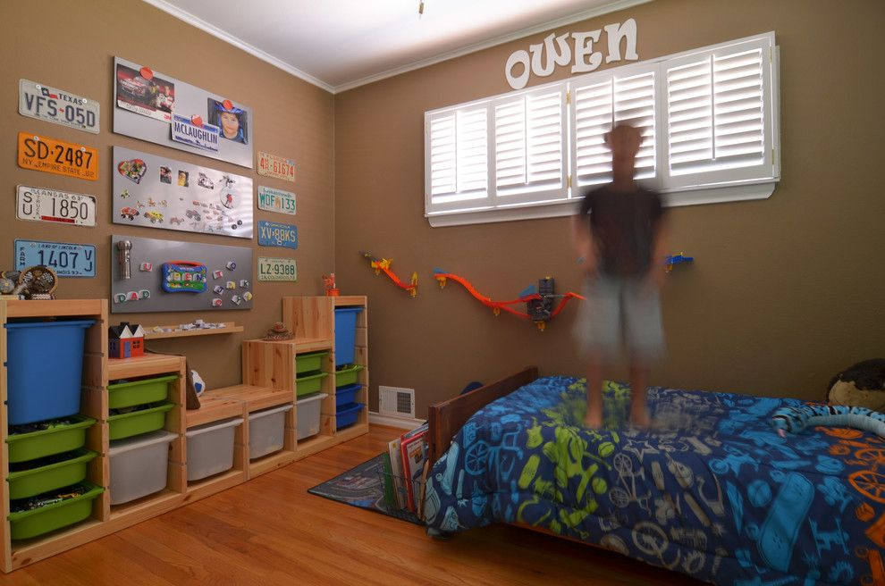 Trofast Ikea for a Traditional Kids with a Kids and Dallas, Tx: Ryan and Erin Mclaughlin by Sarah Greenman