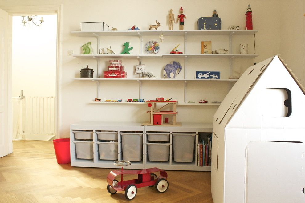Trofast Ikea for a Traditional Kids with a Toy and Boys Room by Iris