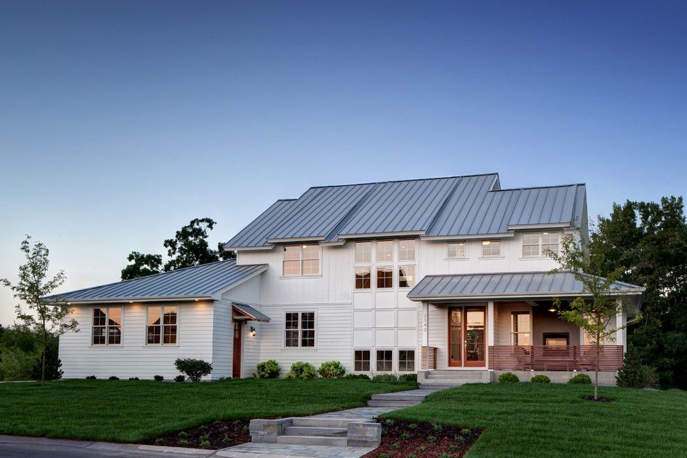 Valpo.edu for a Farmhouse Exterior with a Grass and Prior Lake Modern Farm House by Amek Custom Builders