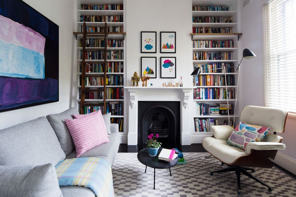 Vienna Waits for You for a Eclectic Living Room with a Area Rug and Darlinghurst Terrace by Horton & Co. Designers