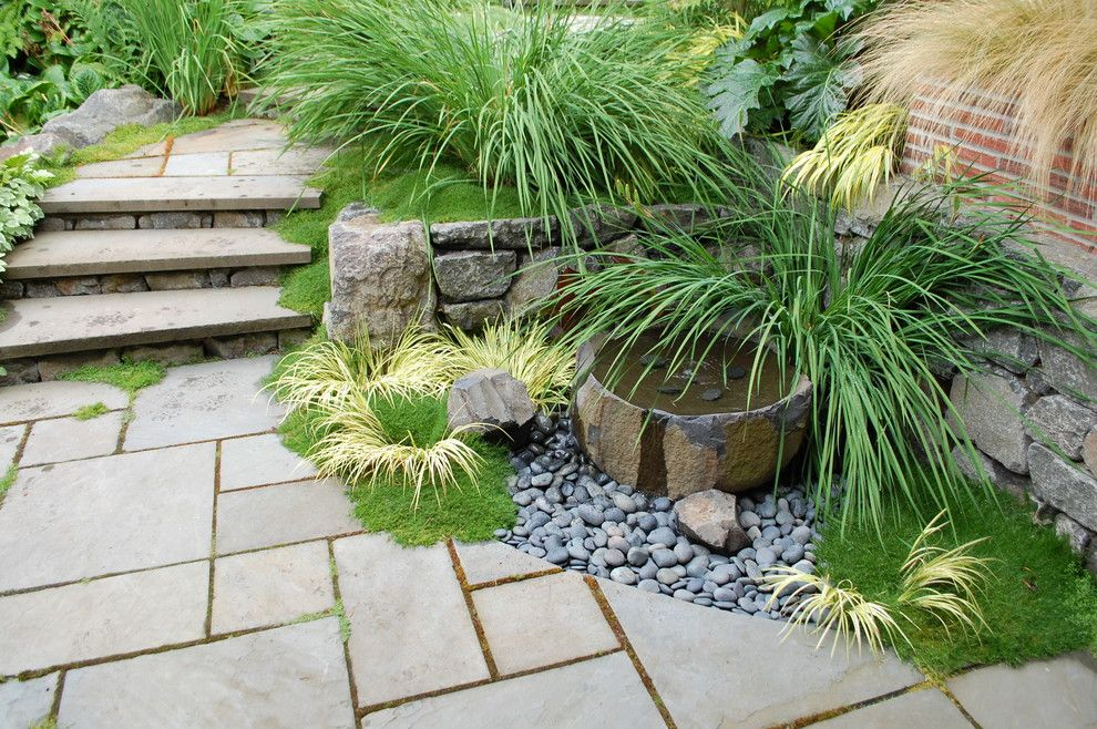 Water Gardens Pleasant Grove for a Contemporary Landscape with a Planting and Ivanhoe Renovation by Avalon Northwest Landscape, Llc