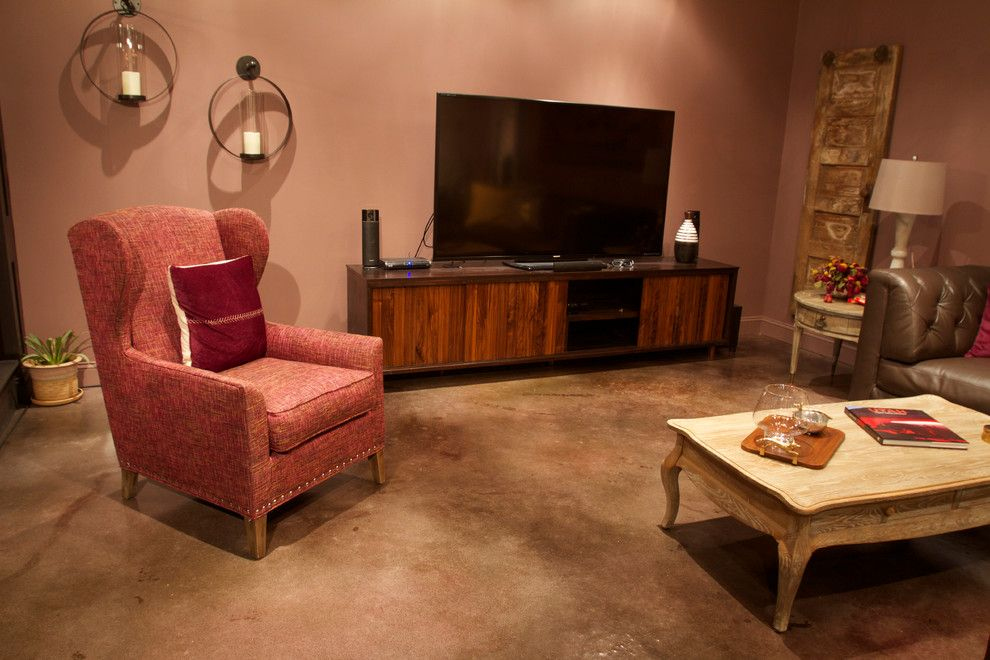 Westcoat for a Contemporary Living Room with a Concrete Stain and Fast Stain | Environmentally Friendly Concrete Stain by Westcoat Specialty Coatings Systems