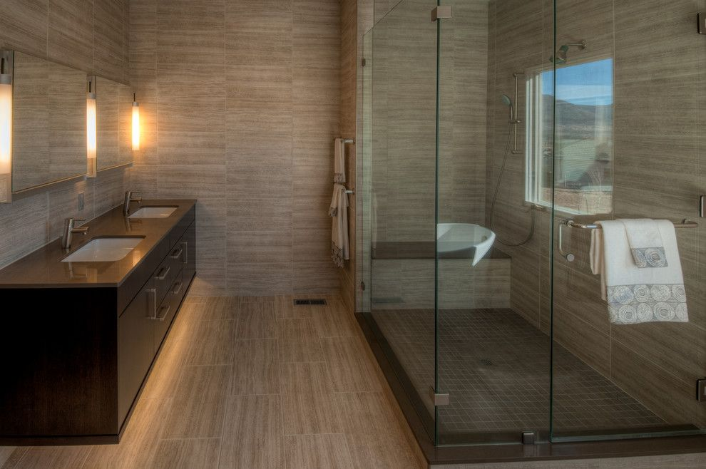 1plus1 for a Contemporary Bathroom with a Colorado Springs Designer and True Contemporary by Plush Designs Kitchen & Bath