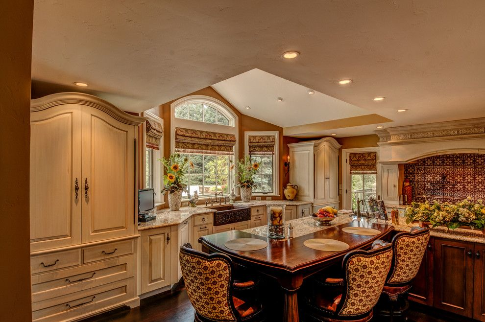 1plus1 for a Traditional Kitchen with a Kitchen and Bath Designer and Greenwood Village by Plush Designs Kitchen & Bath