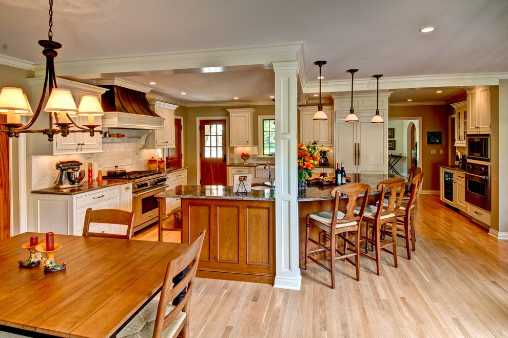 1plus1 for a Traditional Kitchen with a Kitchen and Bath Remodeler and Country French by Plush Designs Kitchen & Bath