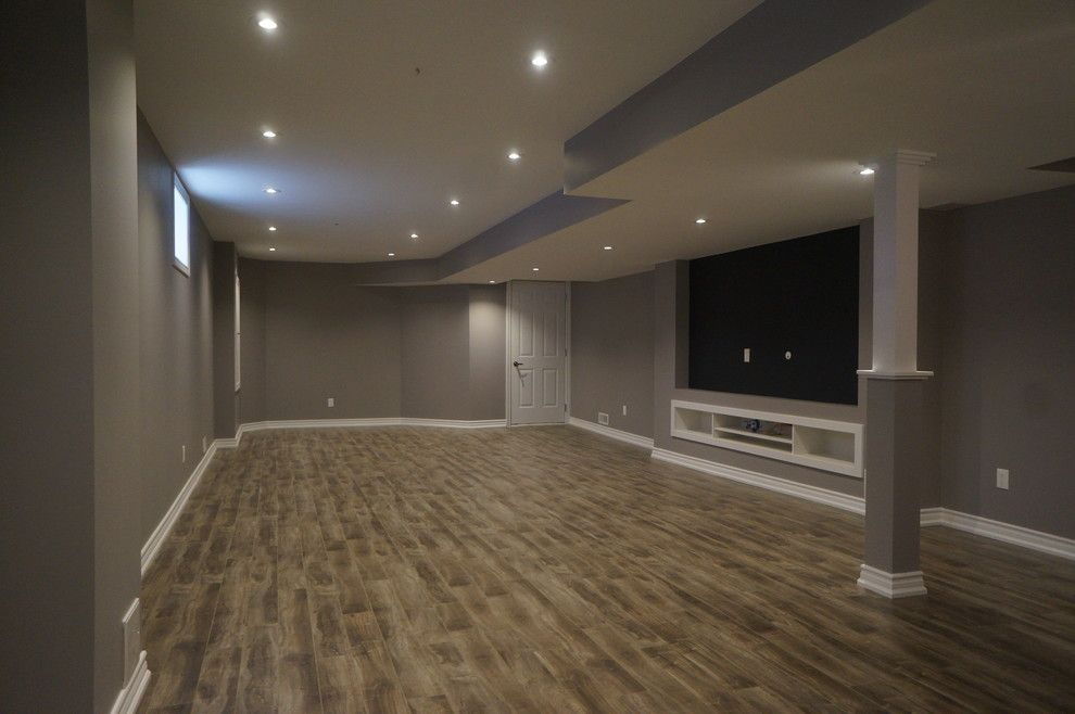 40th St Movie Theater for a Modern Basement with a Basement and New Basement   Cynthia Jean St. Markham by Rhinoreno