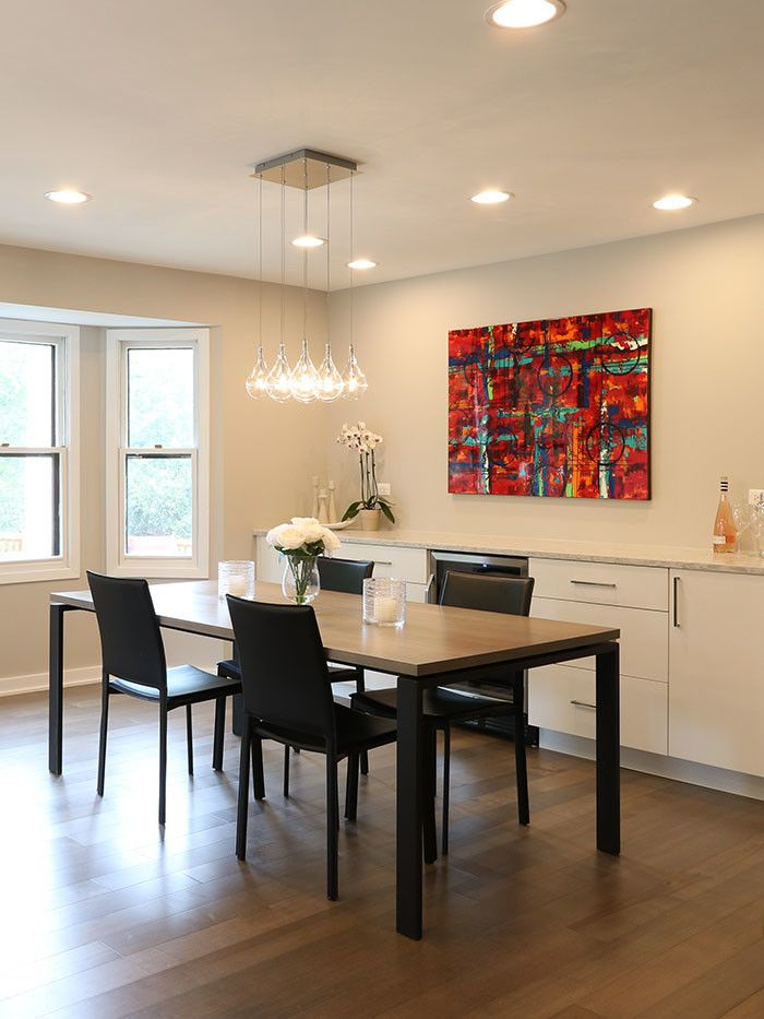 60035 for a Contemporary Spaces with a Large Island and Highland Park Kitchen Remodel by Prestige Renovations