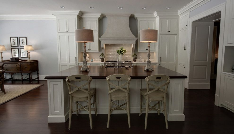 9x18 for a Transitional Kitchen with a Transitional and Brookhaven by Castro Design Studio