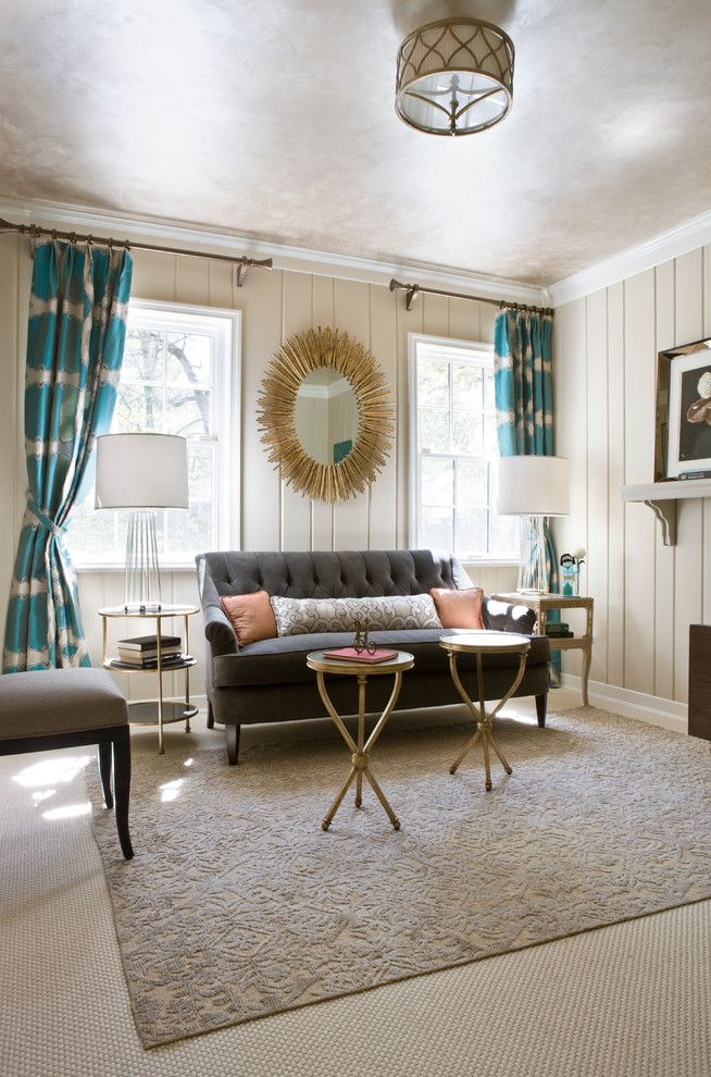 9x18 for a Transitional Living Room with a Rug and Dc Design House 2012 by Lorna Gross Interior Design