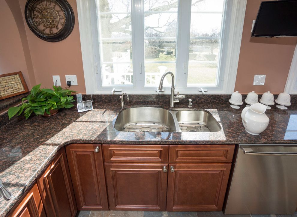 Aaa Cranston Ri for a Traditional Kitchen with a Instant Hot Faucet and Cranston, Ri   Kitchen Remodel by Insperiors, Llc