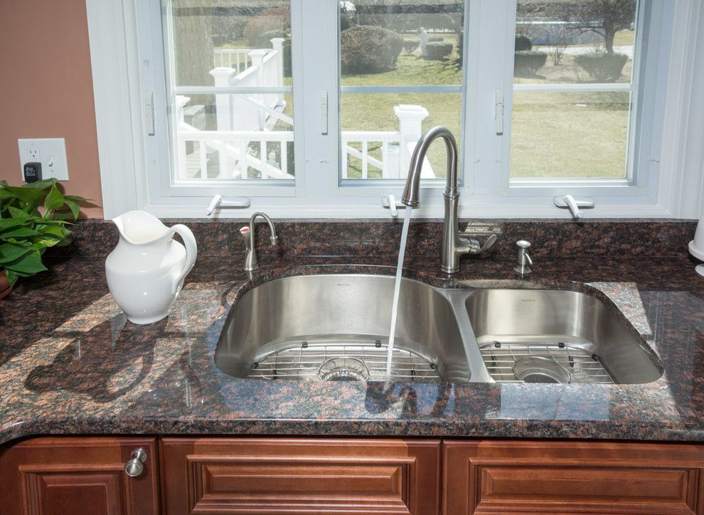 Aaa Cranston Ri for a Traditional Kitchen with a Kohler Faucet and Cranston, Ri   Kitchen Remodel by Insperiors, Llc