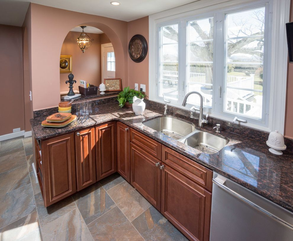 Aaa Cranston Ri for a Traditional Kitchen with a Wall Ovens and Cranston, Ri   Kitchen Remodel by Insperiors, Llc