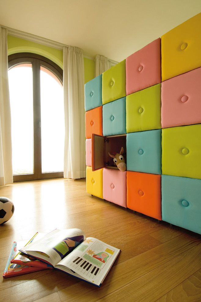 Aaa Salvage for a Contemporary Kids with a Toy Storage and Lazzari Kids Room by Lazzari Usa   a Brand of Foppapedretti