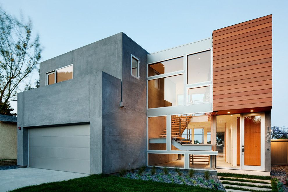 Aaa Santa Barbara for a Contemporary Exterior with a Window and Front by Walker Workshop
