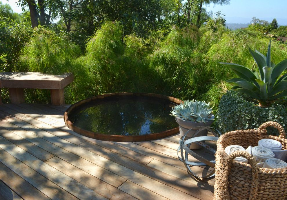 Aaa Santa Barbara for a Modern Landscape with a Outdoor Potted Plants and Santa Barbara Modern Ranch by Jeffrey Gordon Smith Landscape Architecture