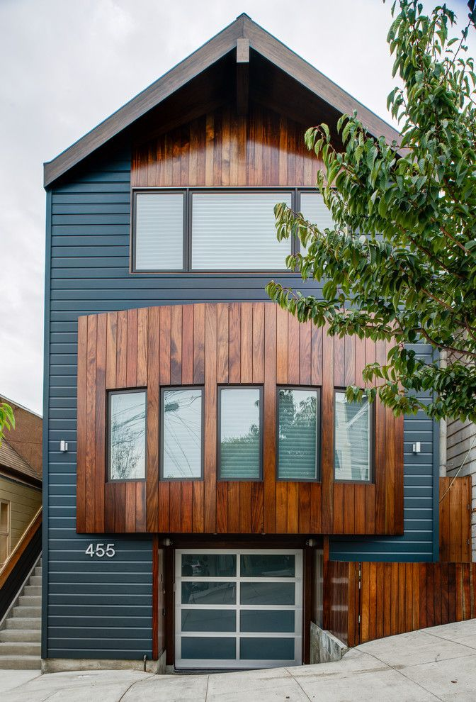 Aaa West Springfield for a Contemporary Exterior with a Wood Exterior and Noe Valley by Doran Construction and Design, Inc.