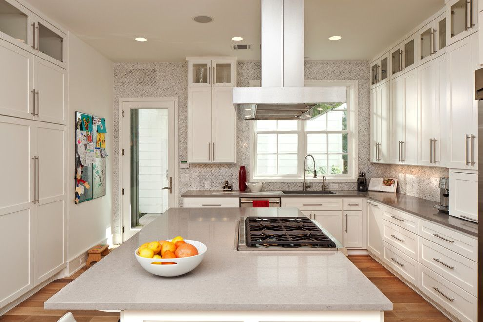 Aarons Uk Blog for a Contemporary Kitchen with a White Cabinet and Westover Residence by Cornerstone Architects