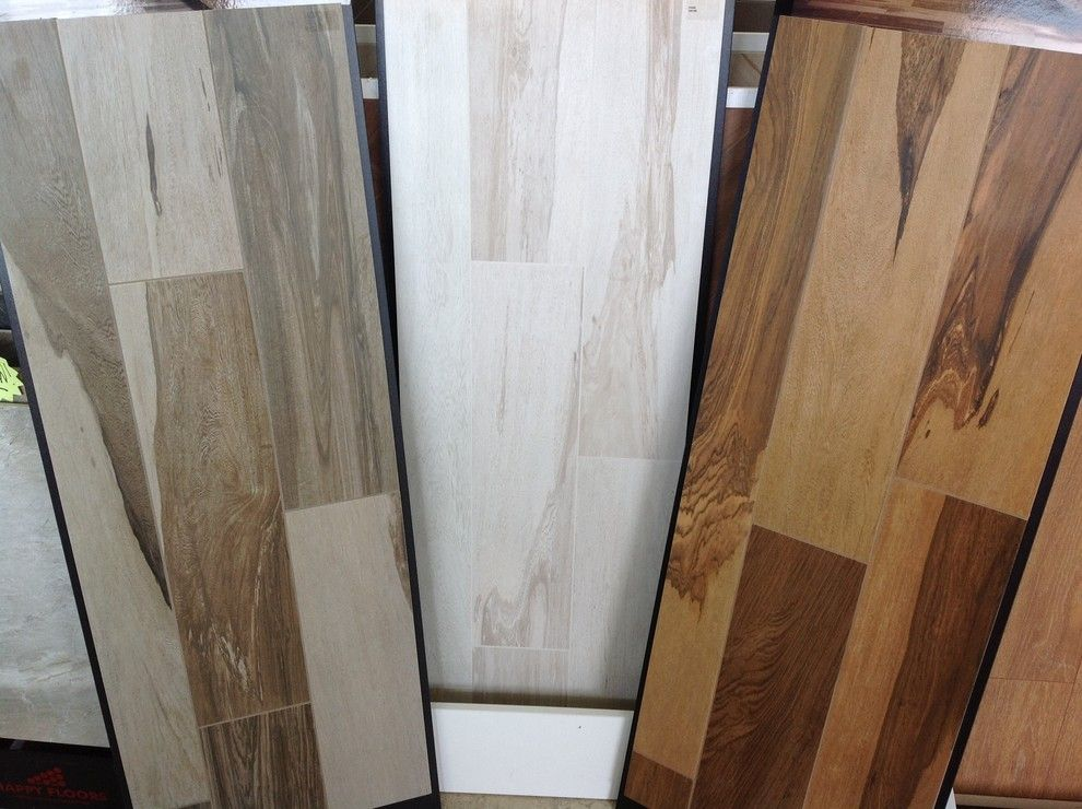 Abbey Flooring for a Traditional Spaces with a Wood Look Tile and Over Wood Look Tile by Abbey Floor Fashion
